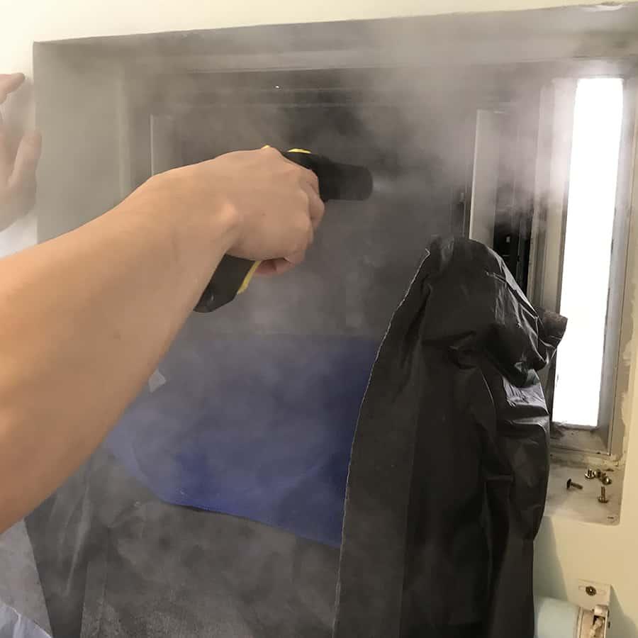 蒸洗及消毒冷氣機