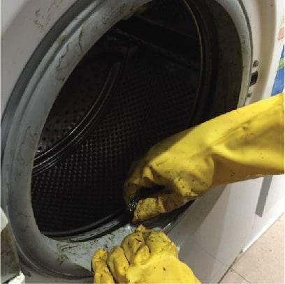清洗洗衣機
