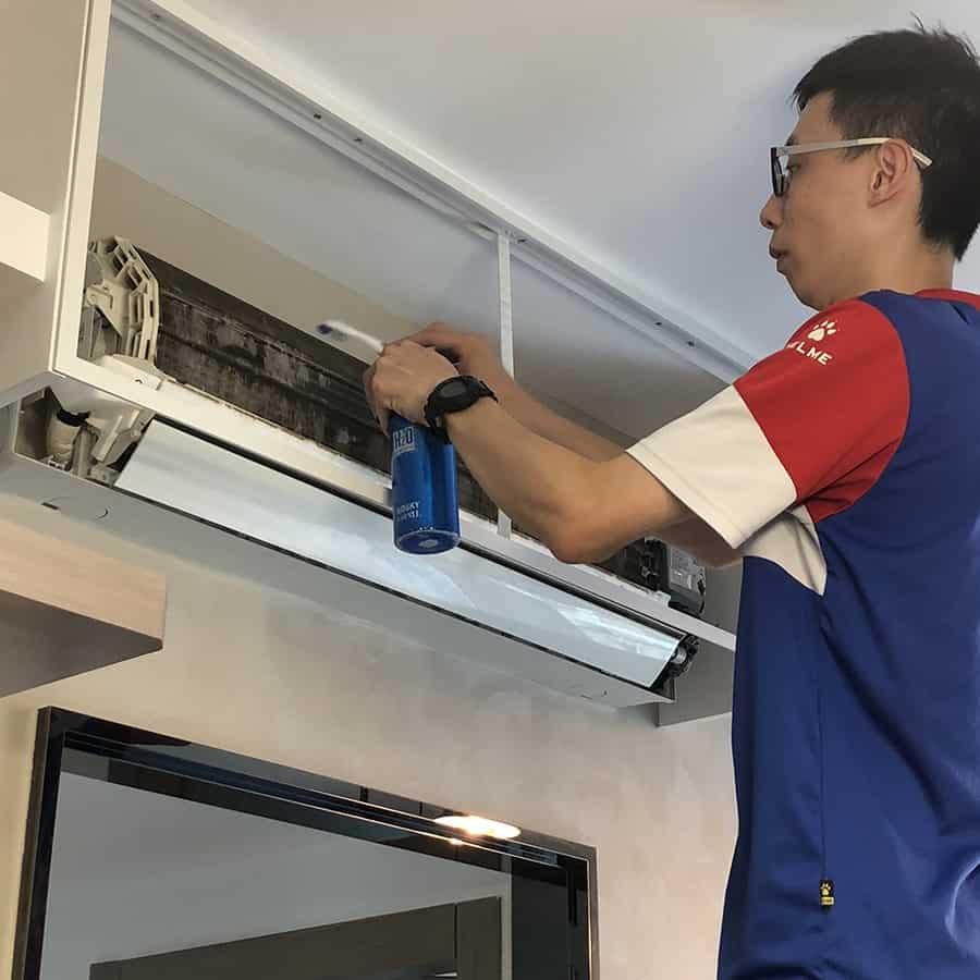 蒸洗及消毒冷氣機 清洗冷氣服務