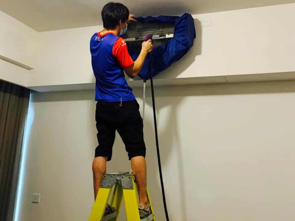 【裝修後清潔】|【除甲醛服務】|【滅蟲服務】|【洗冷氣服務】| 何文田天鑄 洗冷氣服務